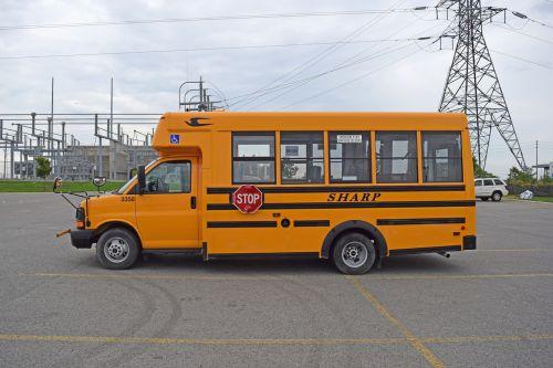 school bus orange bus
