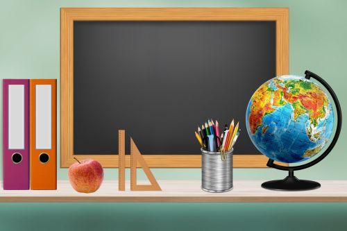 School Classroom Illustration
