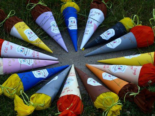 schoolday treats colorful kindergarten