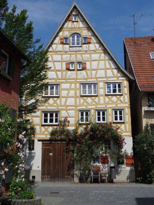 schorndorf old town fachwerkhaus