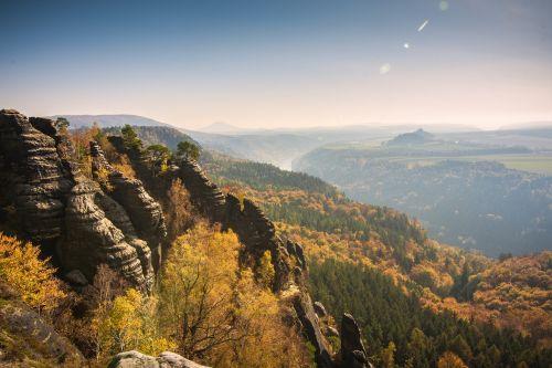 schrammsteine elbe sandstone mountains climb