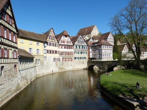 schwäbisch hall hall old town