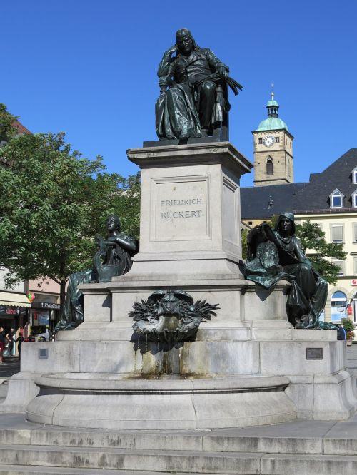 schweinfurt rückert friedrich monument