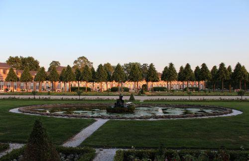 schwetzingen castle castle park
