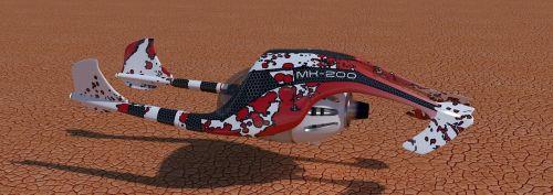 sci-fi speeder blender