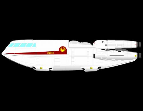 sci fi spaceship tv series