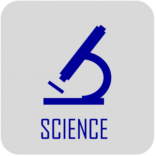science icon microscope