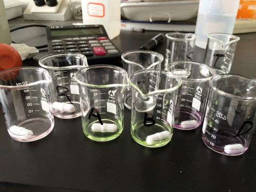 science laboratory beaker