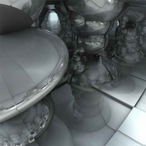 science fiction 3d future