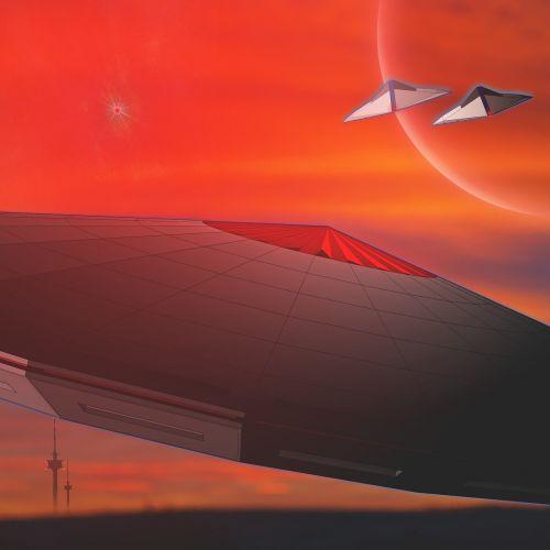 science fiction ufo forward