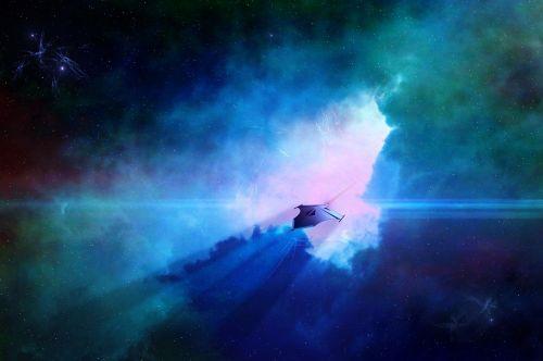 science fiction spaceship alien