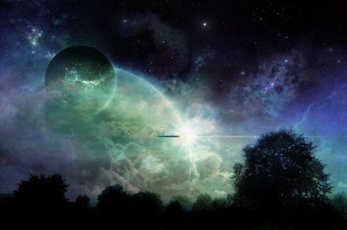 science fiction future spaceship