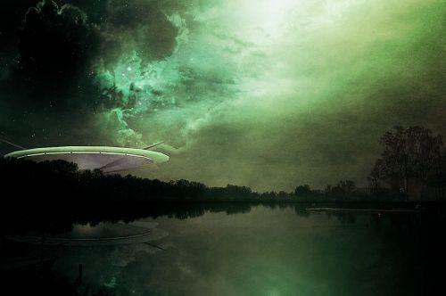 science fiction alien futuristic