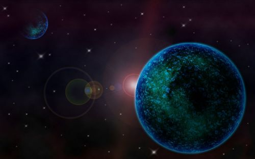 scifi planet earth