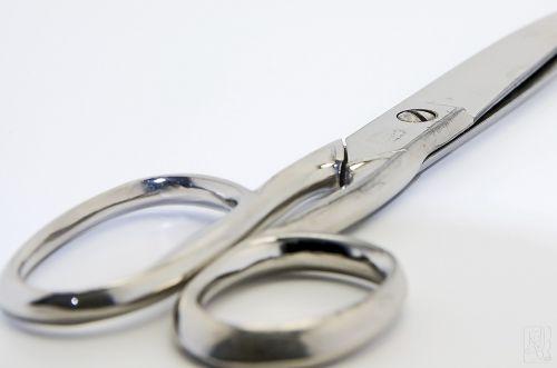 scissors sharp cut
