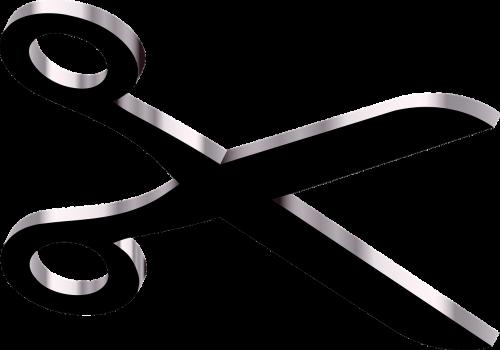 scissors cut cutting