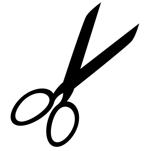 scissors cut icon