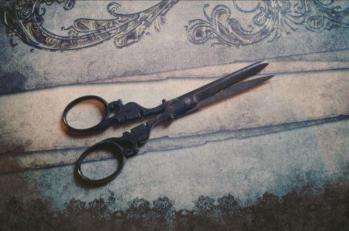scissors old old scissors