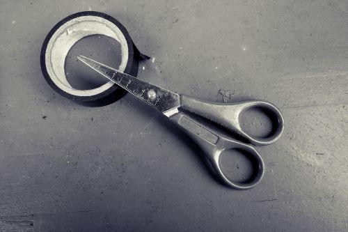 scissors tape tool