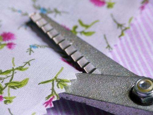 scissors  fabric  sew