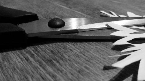 scissors cut paper