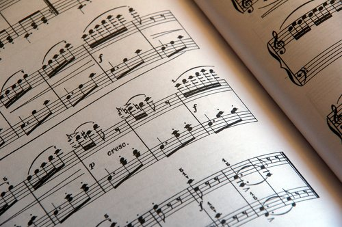 score  music  pentagram