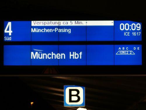 scoreboard railway station overhead projector