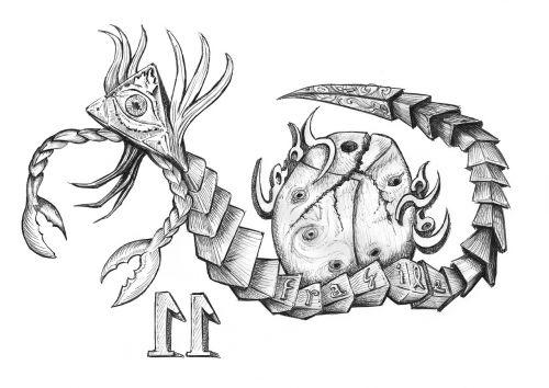 scorpio insect mystic