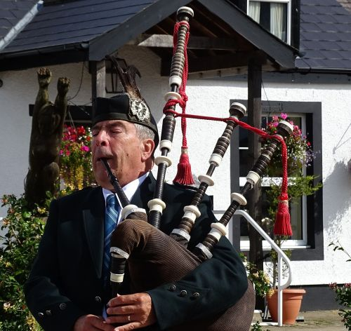 scotland bagpipes musical instrument