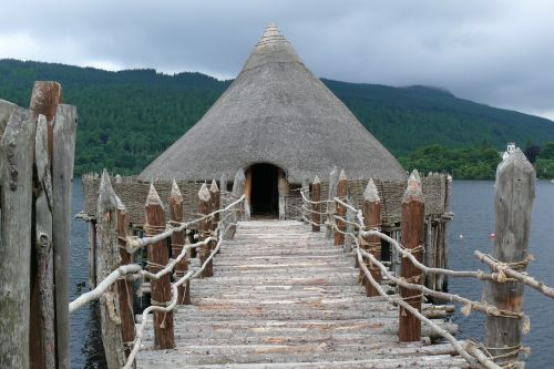 scotland crannog lake