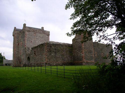 scotland architecture castle