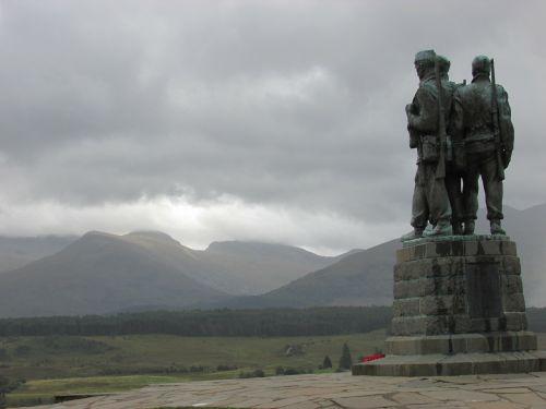 scotland war memorial spean bridge