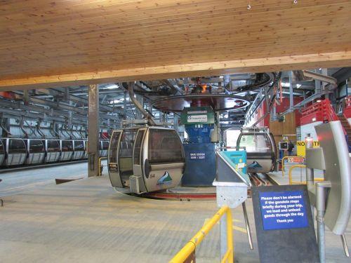scotland ski lift gondola