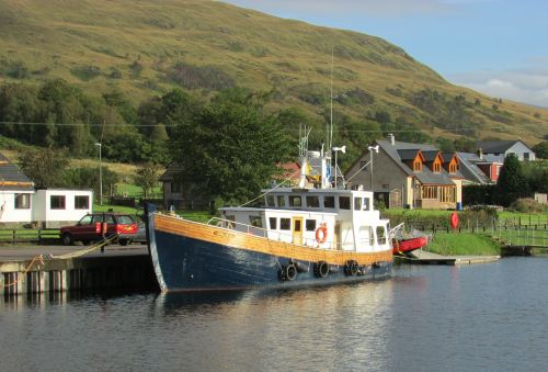 scotland caledonian canal fort william