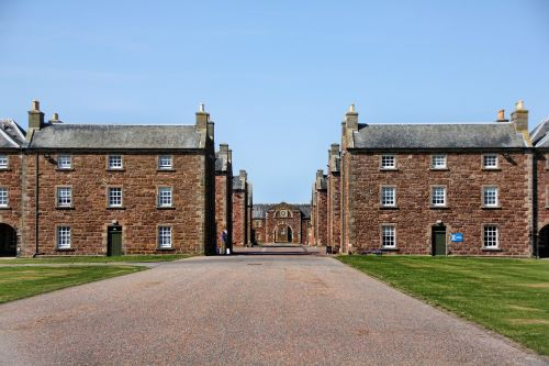 scotland barracks fortress
