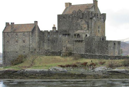 scotland eilean donan castle west coast castles