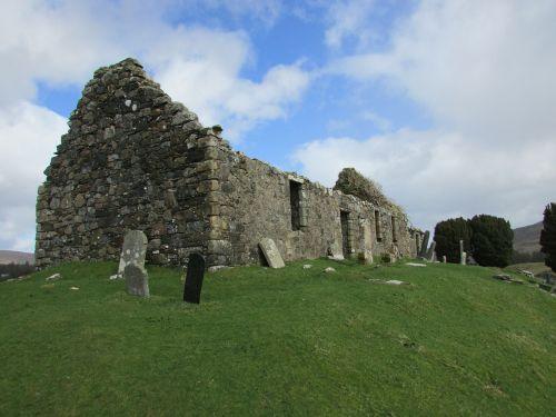scotland isle of skye old church
