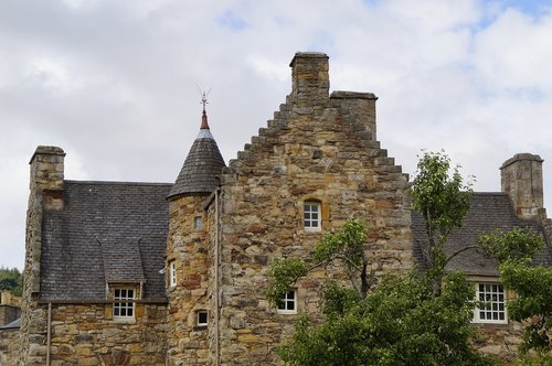 scotland  typical of the country  architecture