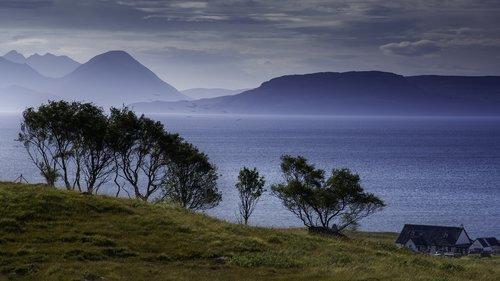scotland  coasts  sea