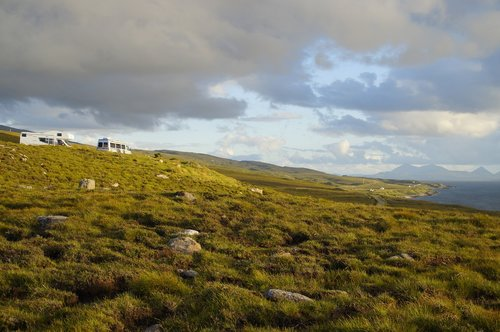 scotland  isle of skye  landscape