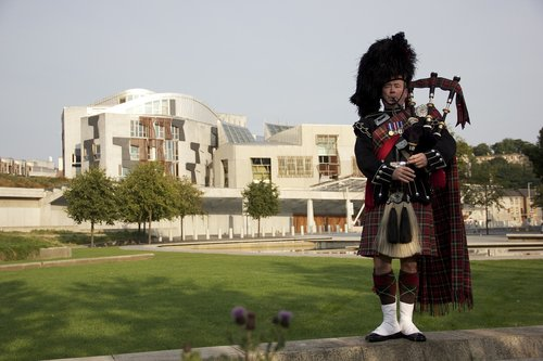 scotland  piper  scottish