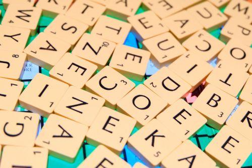 scrabble letters words
