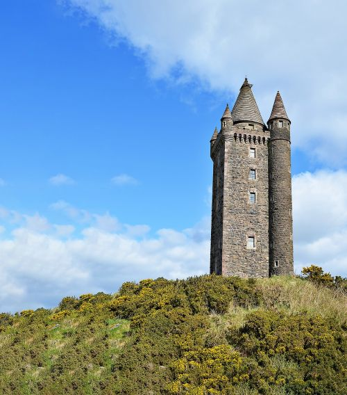 scrabo tower tower newtownards