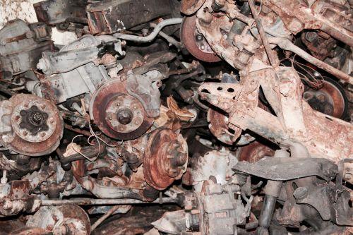 scrap motors junkyard