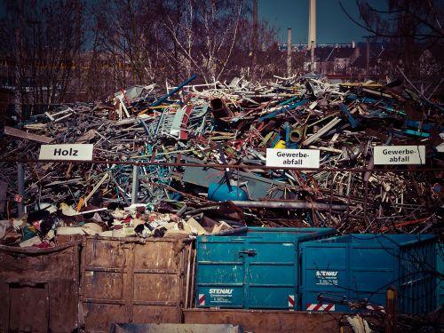 scrap scrap trade garbage