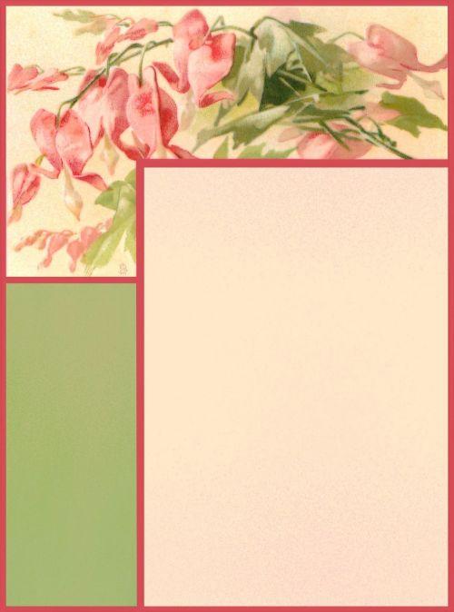 scrapbook paper page