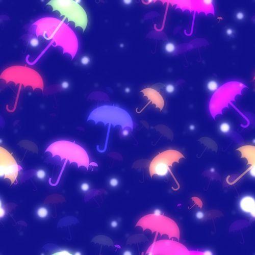 umbrella bokeh background