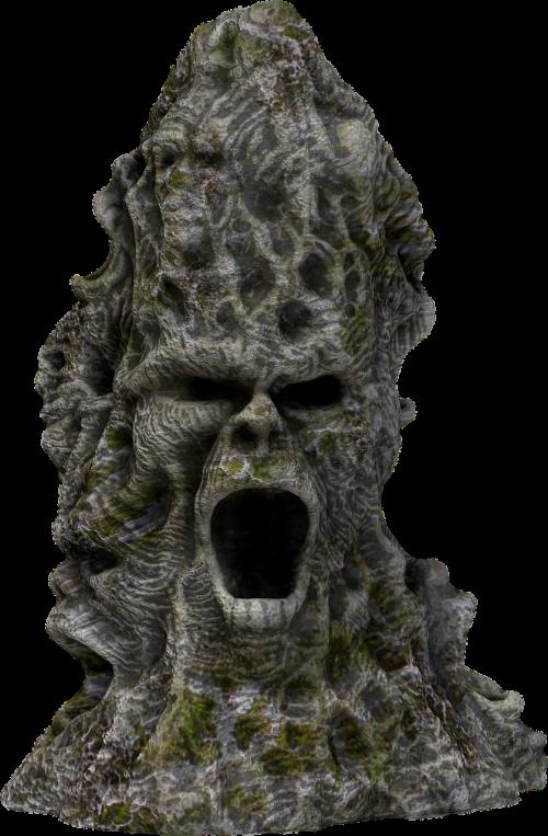 screaming rock rock face