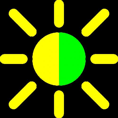 screen control brightness