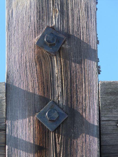 screw gland wood